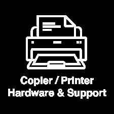 EA tech services icon copier and printer support